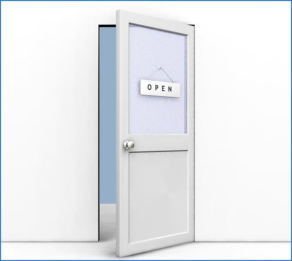 Clipart Illustration of an Open Office Door With An Open Sign Ha  sc 1 st  Occupy CFS & FDA Guidance: Doors Open | Occupy M.E. pezcame.com