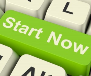 Green-Start-Now-Button